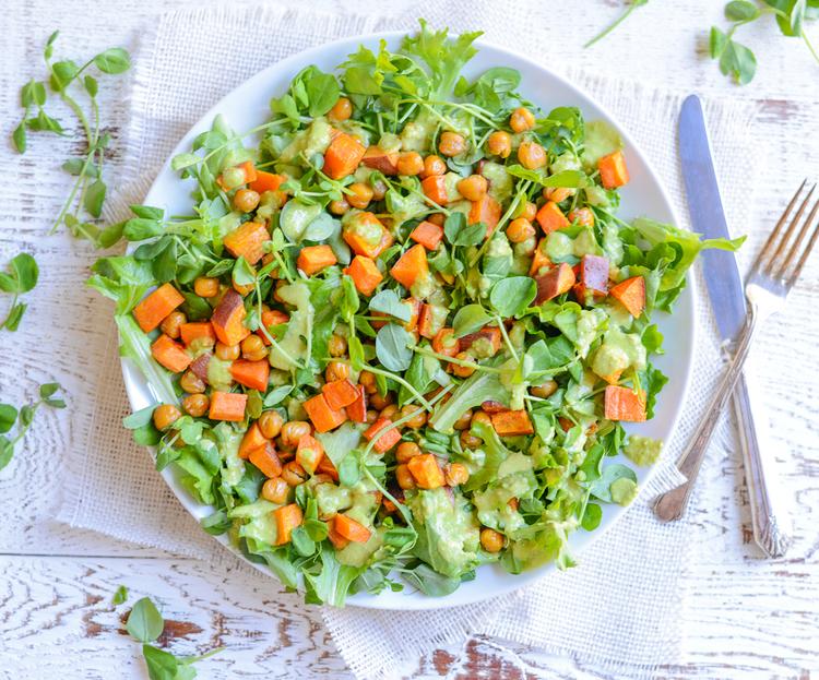 Sweet Pea Power Salad