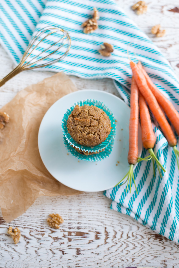 One-Bowl Carrot Cake Muffins
