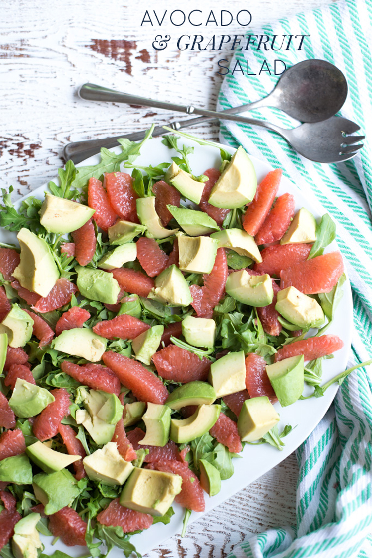 With a short list of simple ingredients, gorgeous colors, and vibrant flavors, Avocado & Grapefruit Salad with Lemon Chive Dressing is easy to prepare and just the thing for lunch, dinner, or brunch!