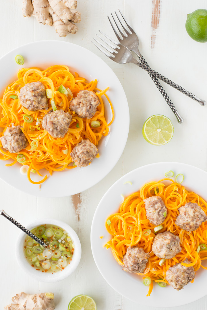 All the flavor without the work, 5-Ingredient Potsticker Meatballs make the perfect weeknight dinner. Grain-free, gluten-free, dairy-free, and so delicious!