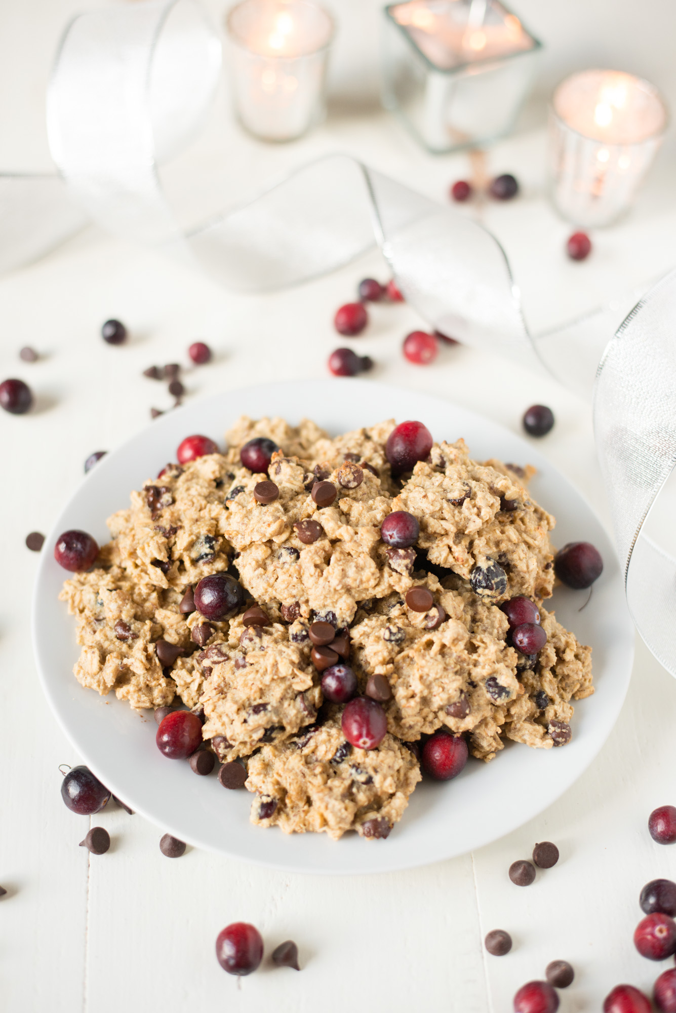 Easy to make and delicious to eat, One-Bowl Chocolate Cranberry Breakfast Cookies are a sweet and wholesome way to start the day!