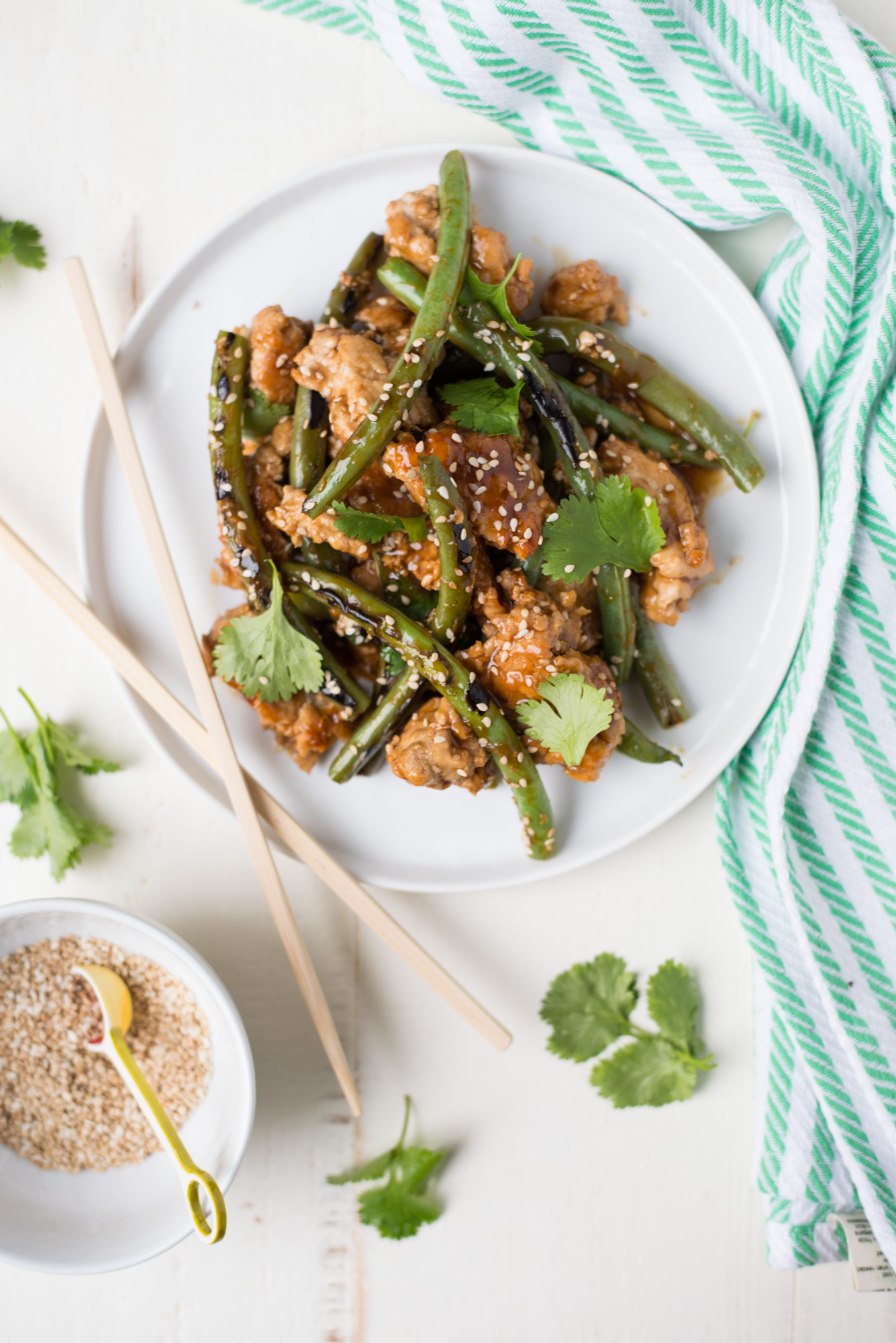 One pan and a few minutes are all you need to whip up this easy, tasty 20-Minute Turkey and Green Bean Stir-Fry.