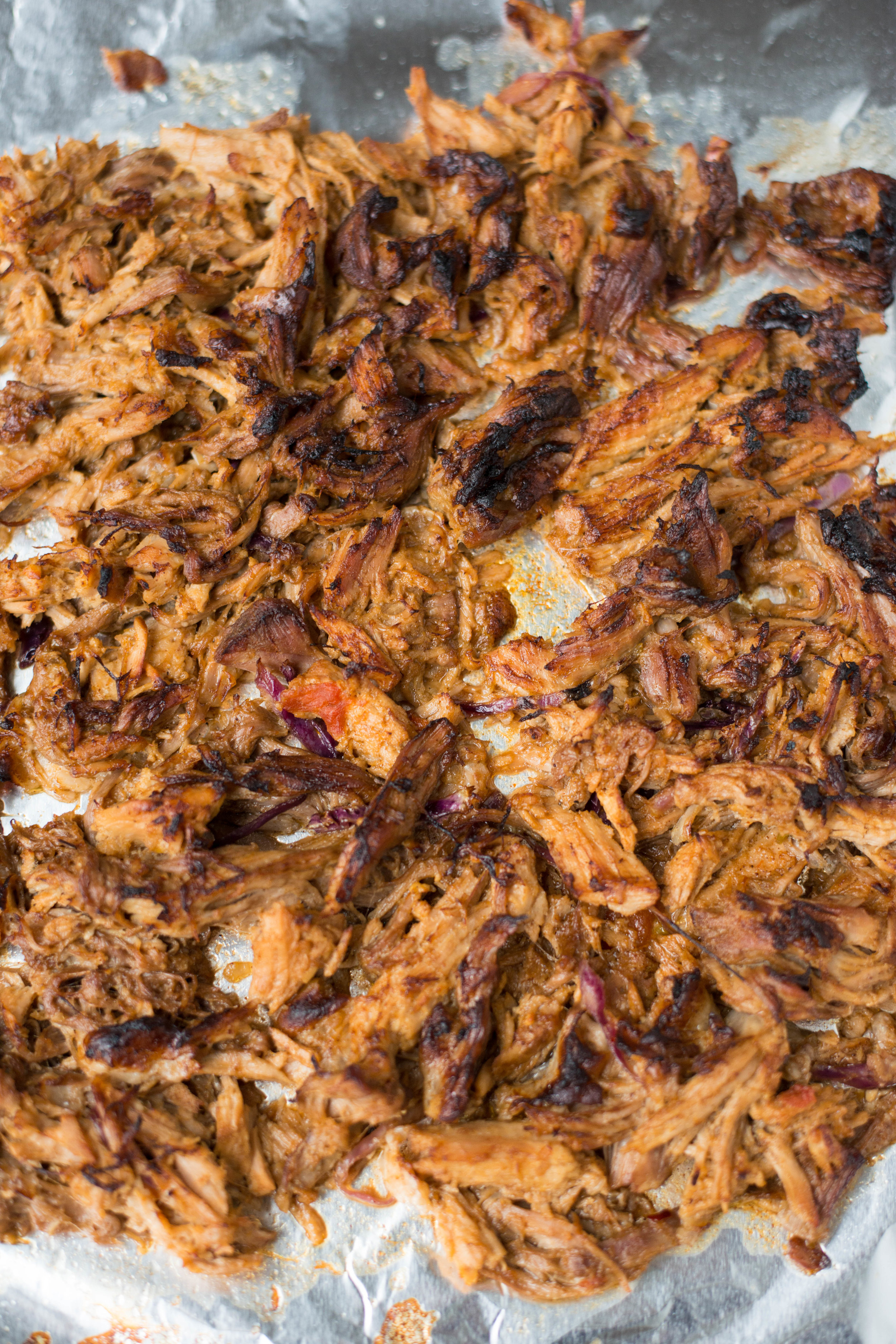 Simple to prepare with easy-to-find ingredients, 6-Ingredient Slow Cooker Carnitas takes just minutes to prep, and the results areinsanely delicious. #realfoodwholelife #healthycooking #slowcooker #crockpot #easyrecipes #recipe #carnitas  #dairyfree #glutenfree #whole30 #paleo #soyfree #tacos