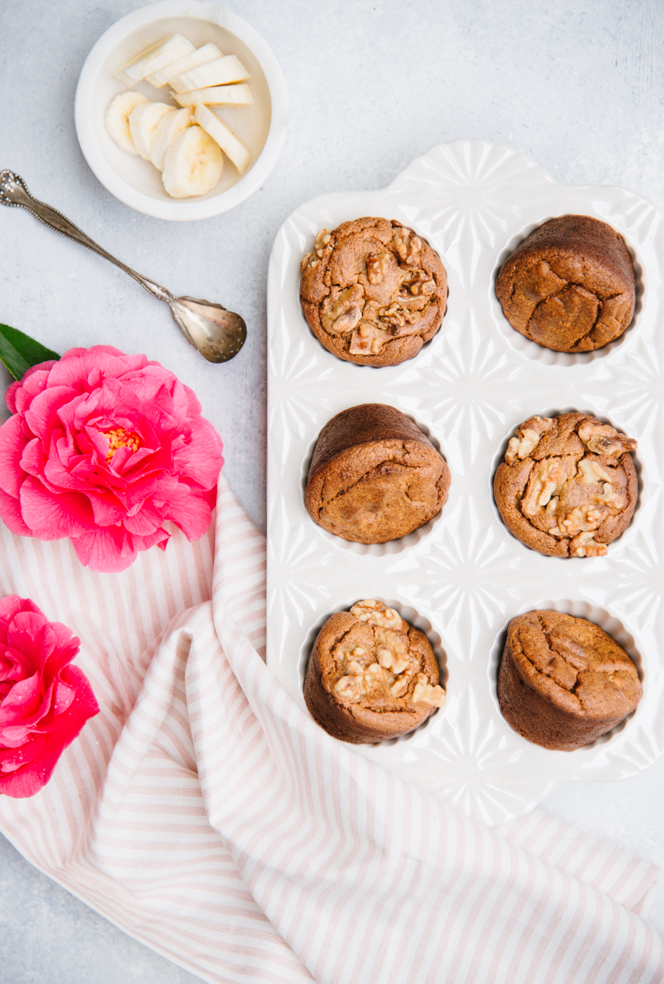 Drop a few simple, wholesome ingredients in the blender, whiz it up, and you'll have homemade muffins in a matter of minutes. Naturally sweetened, gluten-free, dairy-free, and grain-free, Blender Maple Banana Flourless Muffins are sure to be a hit!