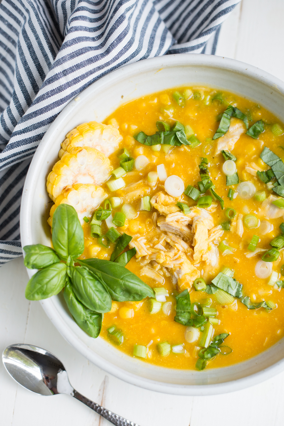 Instant Pot Creamy Chicken Corn Chowder (Dairy-Free) is a simple, healthy, and totally delicious one-pot recipe everyone will love! This healthy recipe is gluten-free, dairy-free, egg-free, mayo-free, nut-free, and soy-free!
