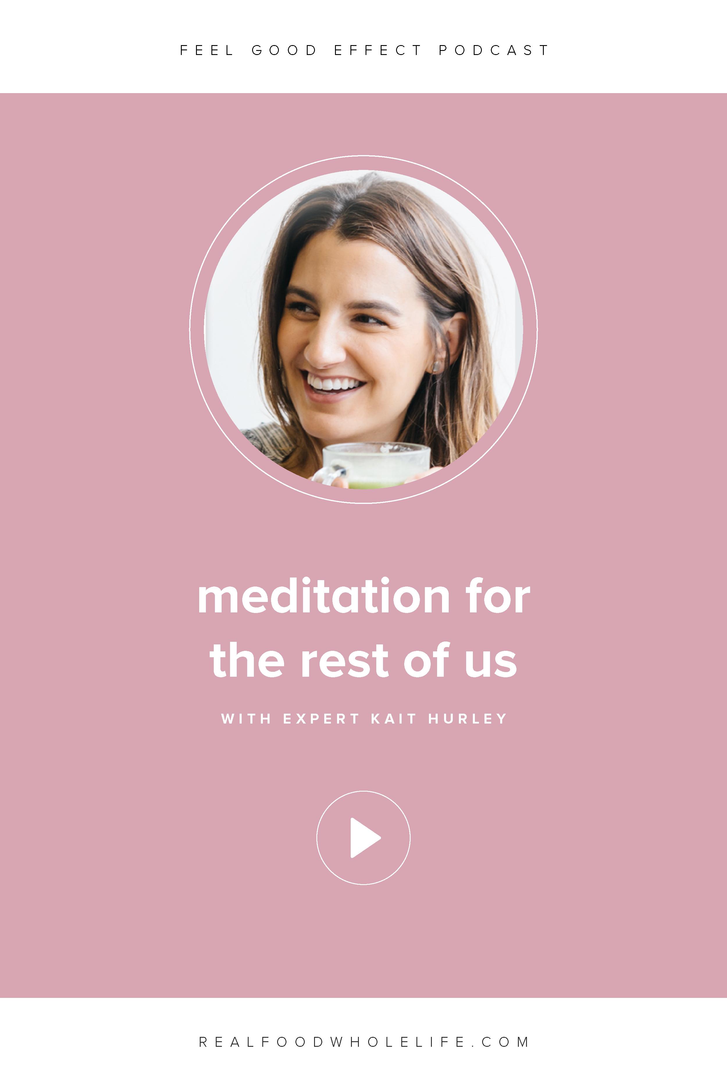 Kait Hurley on the Feel Good Effect Podcast