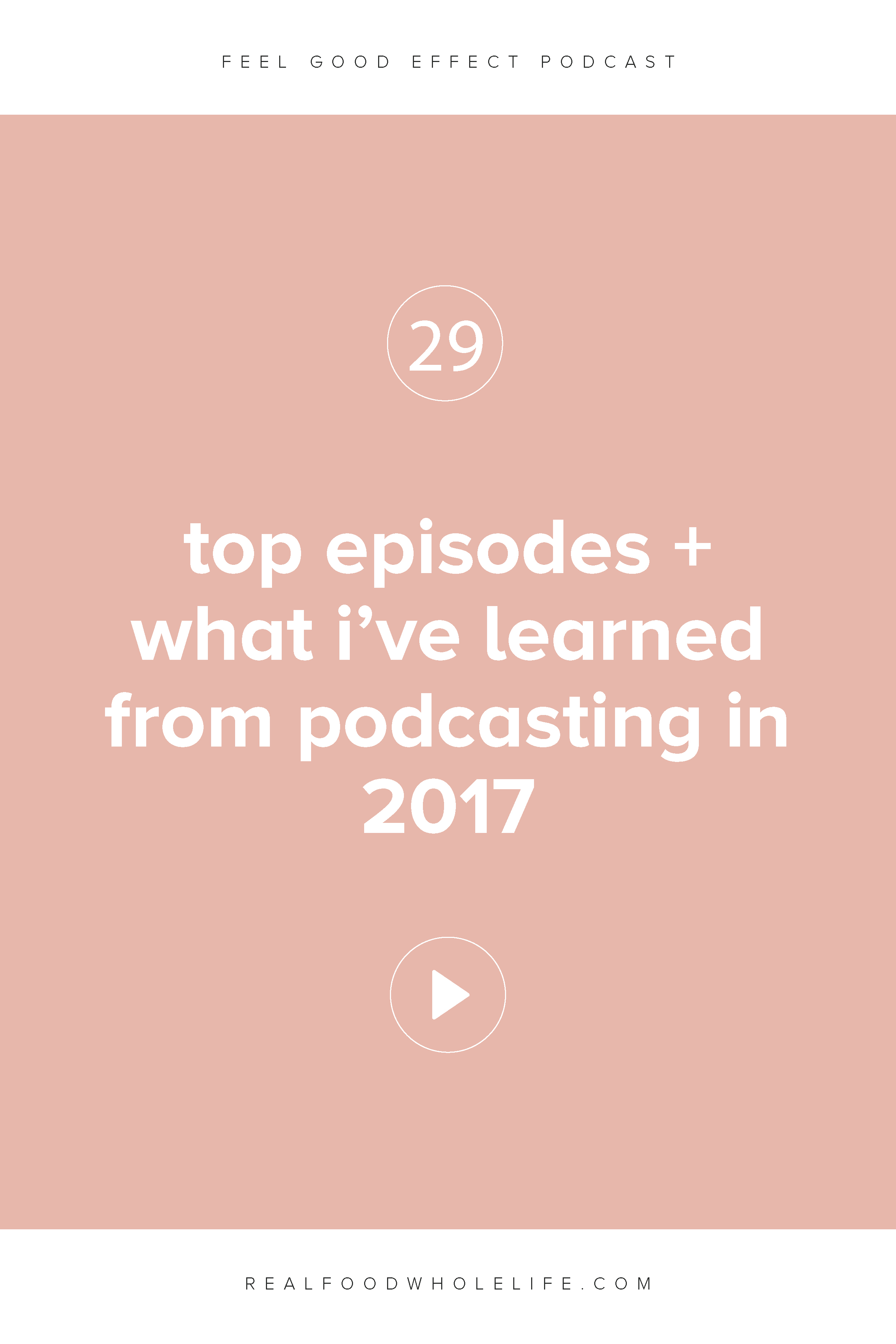 Top Episodes + What I've Learned From Podcasting in 2017
