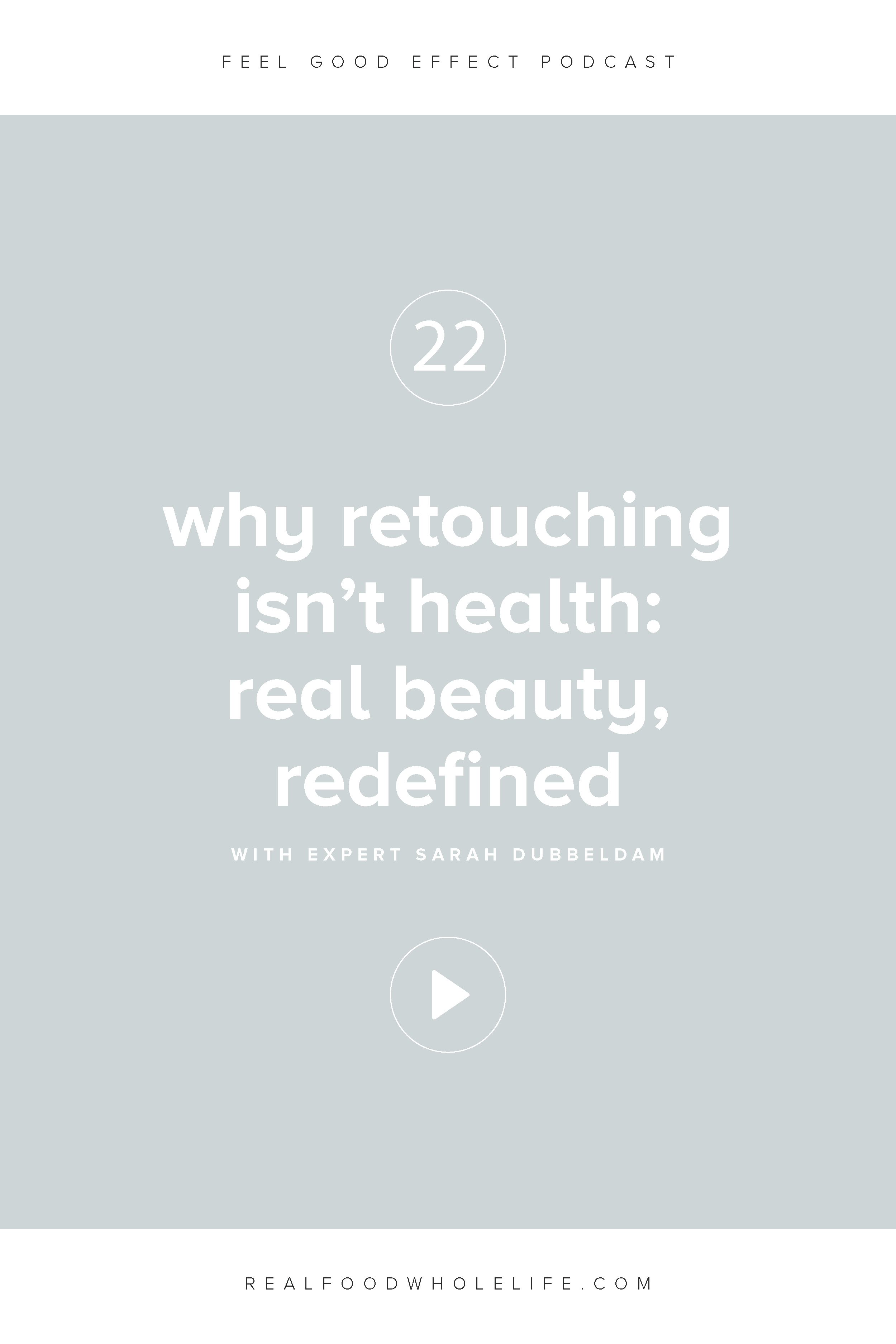 Why Retouching Isn't Health: Real Beauty, Redefined with Sarah Dubbeldam