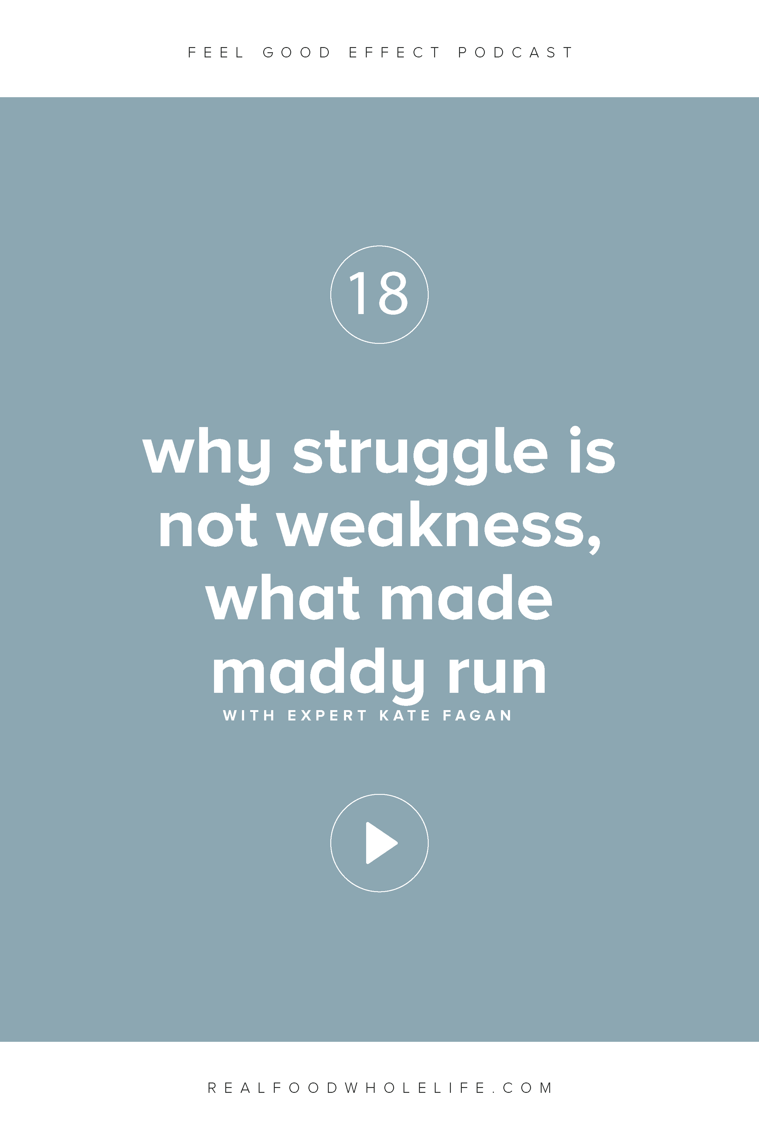 Why Struggle is Not Weakness with Kate Fagan, What Made Maddy Run
