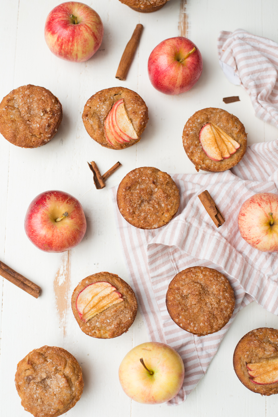 One-Bowl Triple Apple Cider Spiced Muffins are a super tender, totally healthy, and packed with all the flavors of fall. A gluten-free, dairy-free, grain-free recipe. #realfoodwholelife #realfood #recipe #easyrecipe #quickrecipe #healthyrecipe #healthysnack #breakfast #glutenfree #dairyfree #grainfree #nutfree #paleo #muffin #muffinrecipe #apples #applecider #fall #fallrecipe #autumn #applerecipe