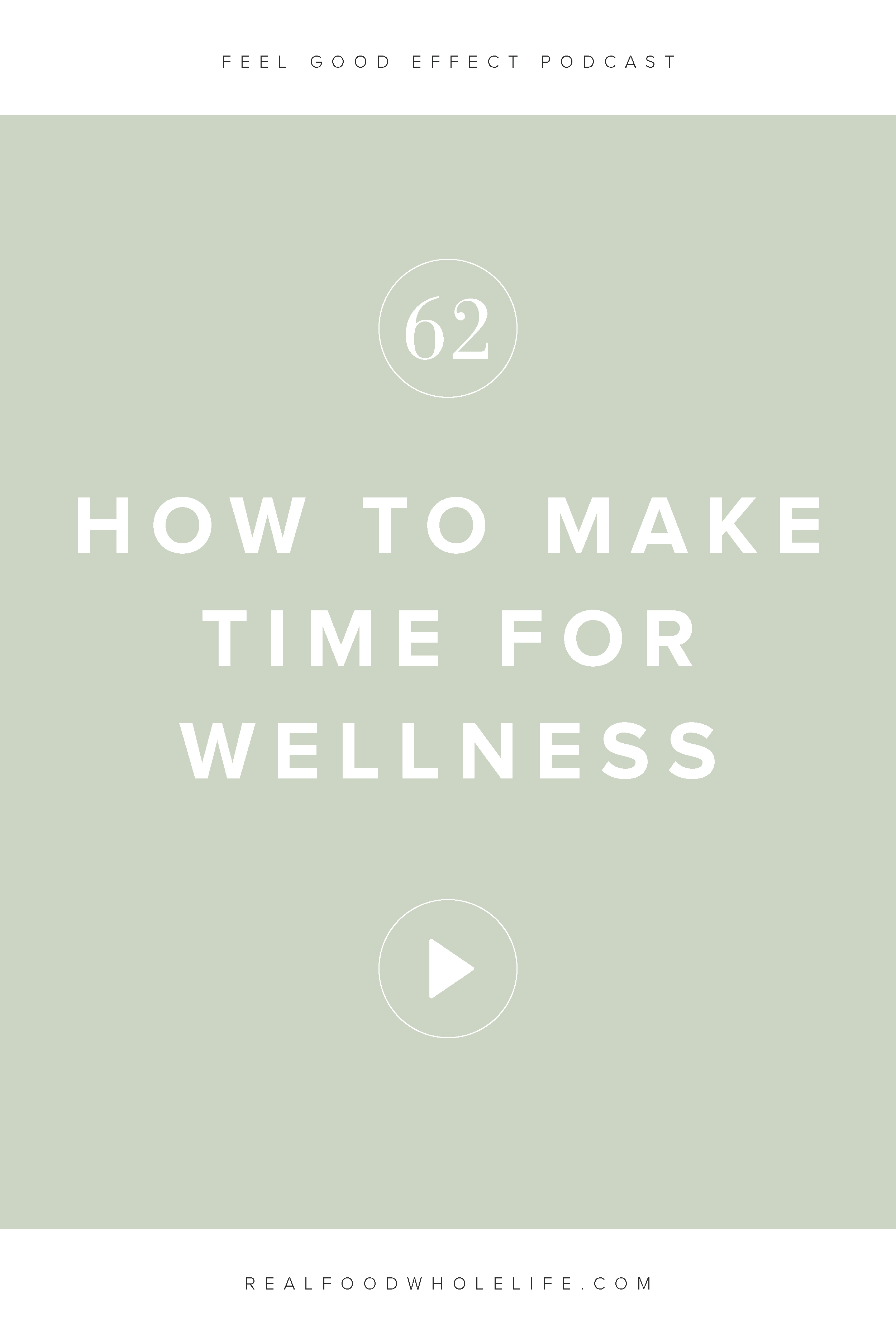 This week's episode is about how to shift your mindset so that you can find the time for wellness. You can have all the tips and strategies, but if you're not able to shift your mindset about how you're thinking about wellness and health those strategies will get you nowhere. Learn how to implement both mindset and strategy into your wellness routine. #feelgoodeffect #wellnesspodcast #mindset