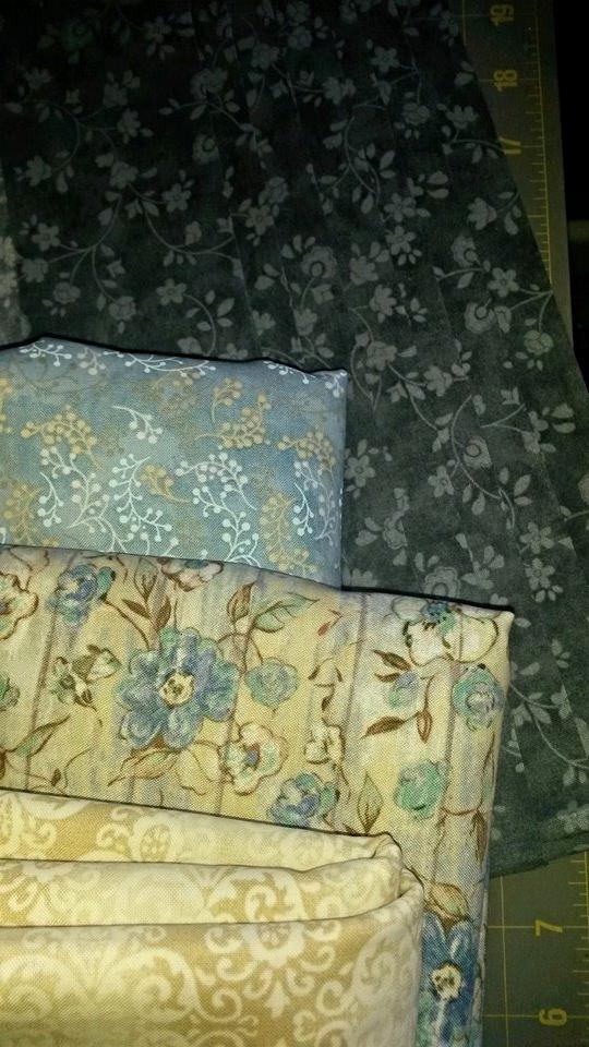 Becky Skrobiak's Fabric Selection