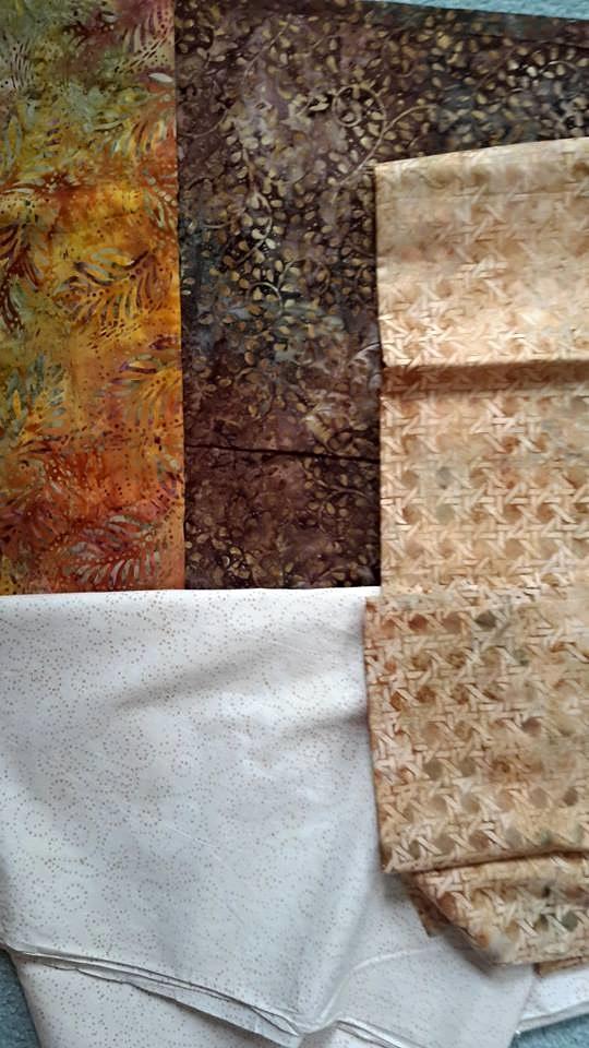 Tina Mauterstock's Fabric Selection