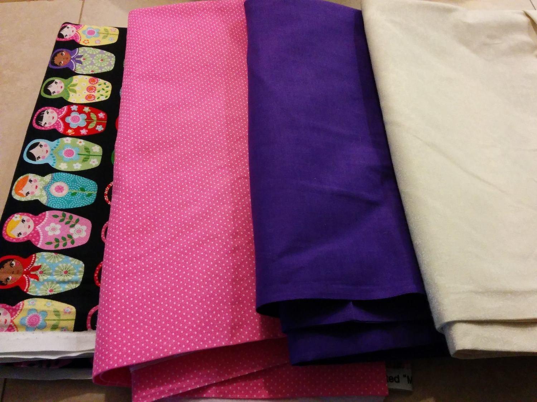 Dawn Fountain's Fabric Selection