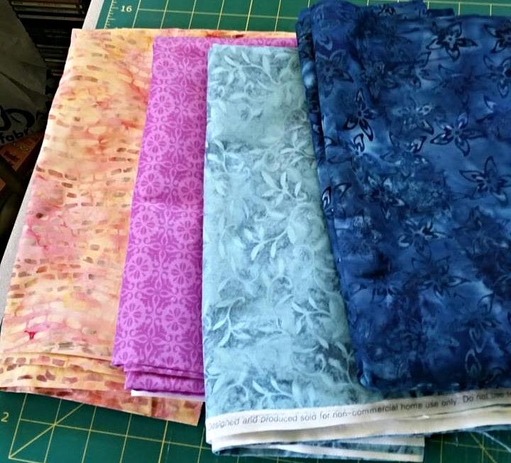 Kathleen Luna-Umek's Fabric Selection