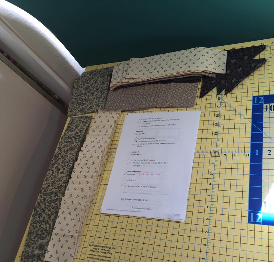 Diane Zubik's Cut Fabric