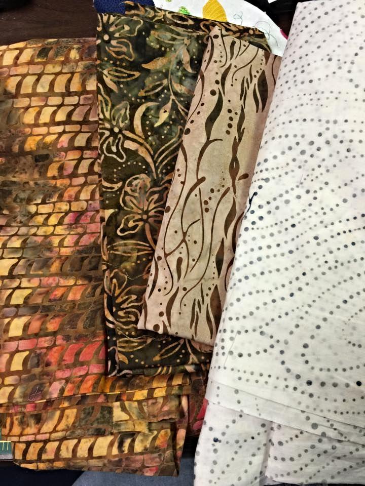 Natalie Beckman's Fabric Selection