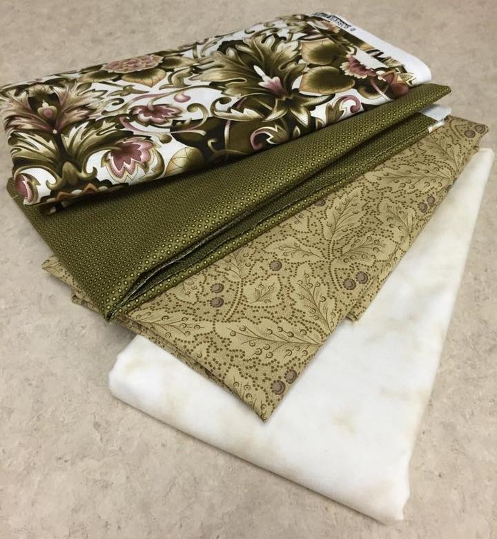 Kristina Martindale's Fabric Selection