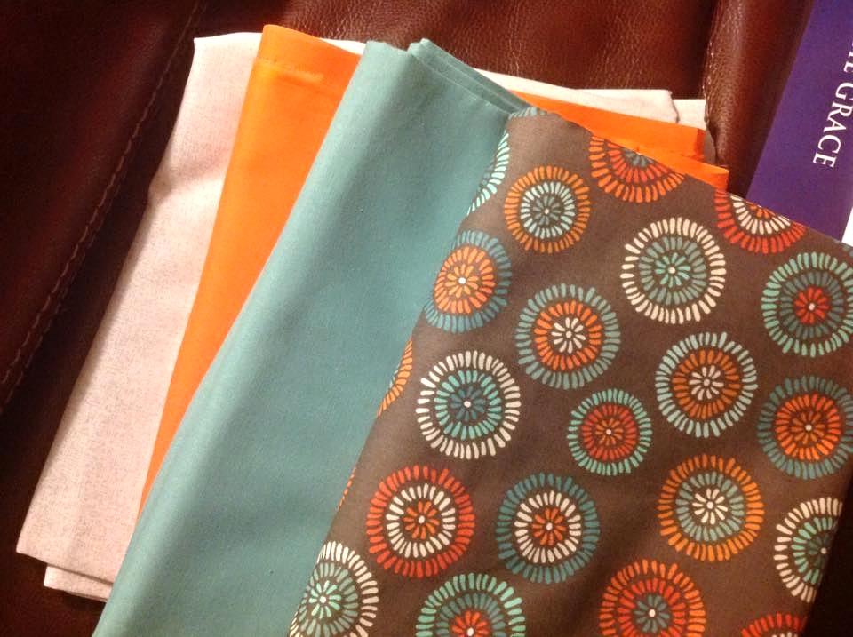 Susan Hanrahan's Fabric Selection