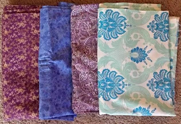Sandra Ruetsche Weigelt's Fabric Selection