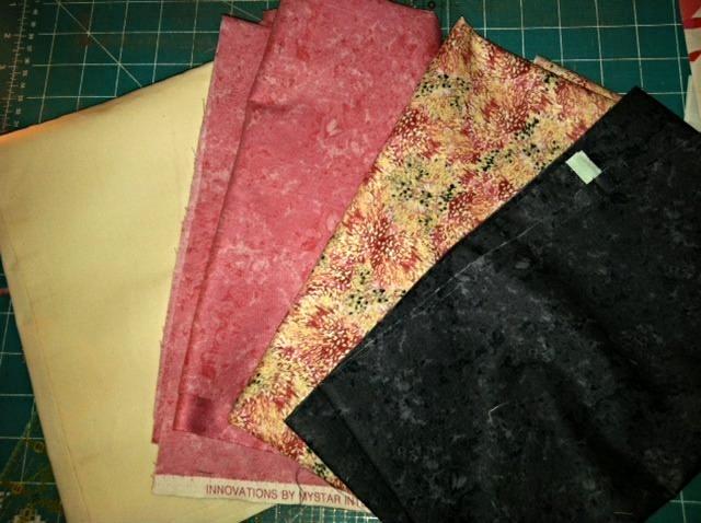 Melanie L. Moody's Fabric Selection