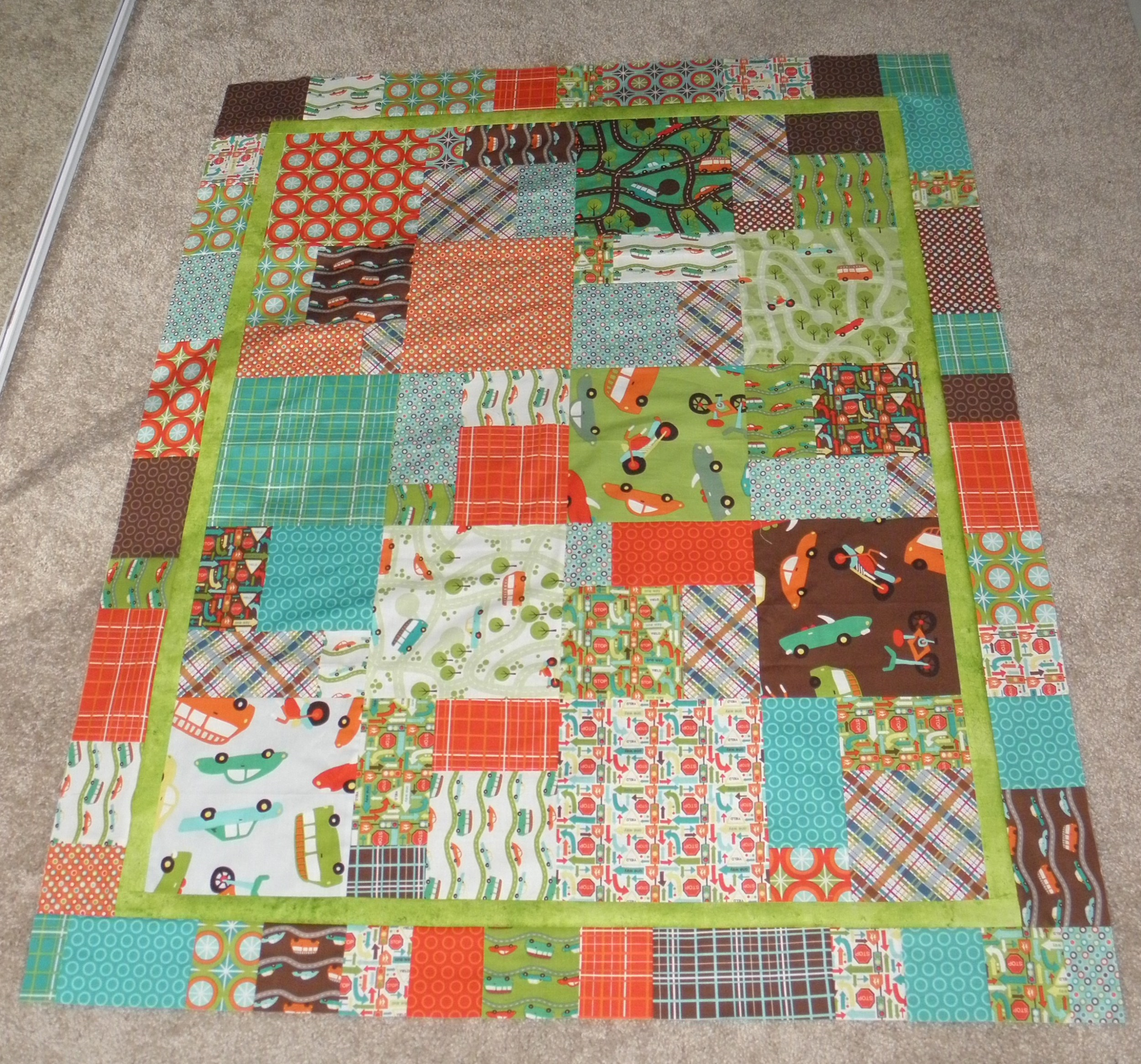 On the Go finished top