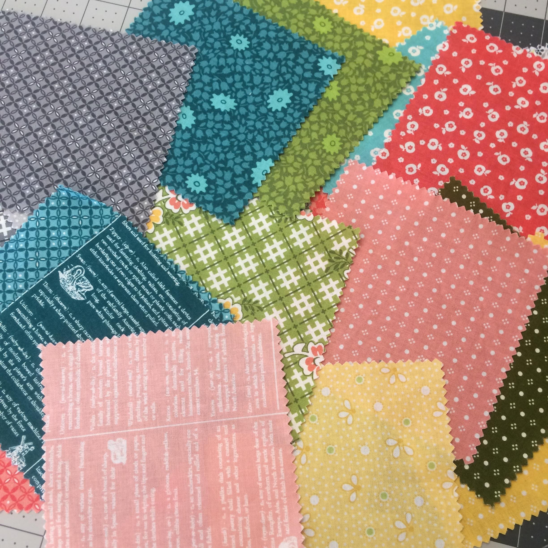 One Room Schoolhouse fabric by Brenda Ratliff.