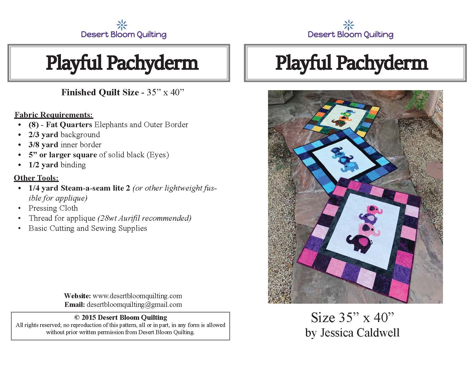 Playful Pachyderm Cover