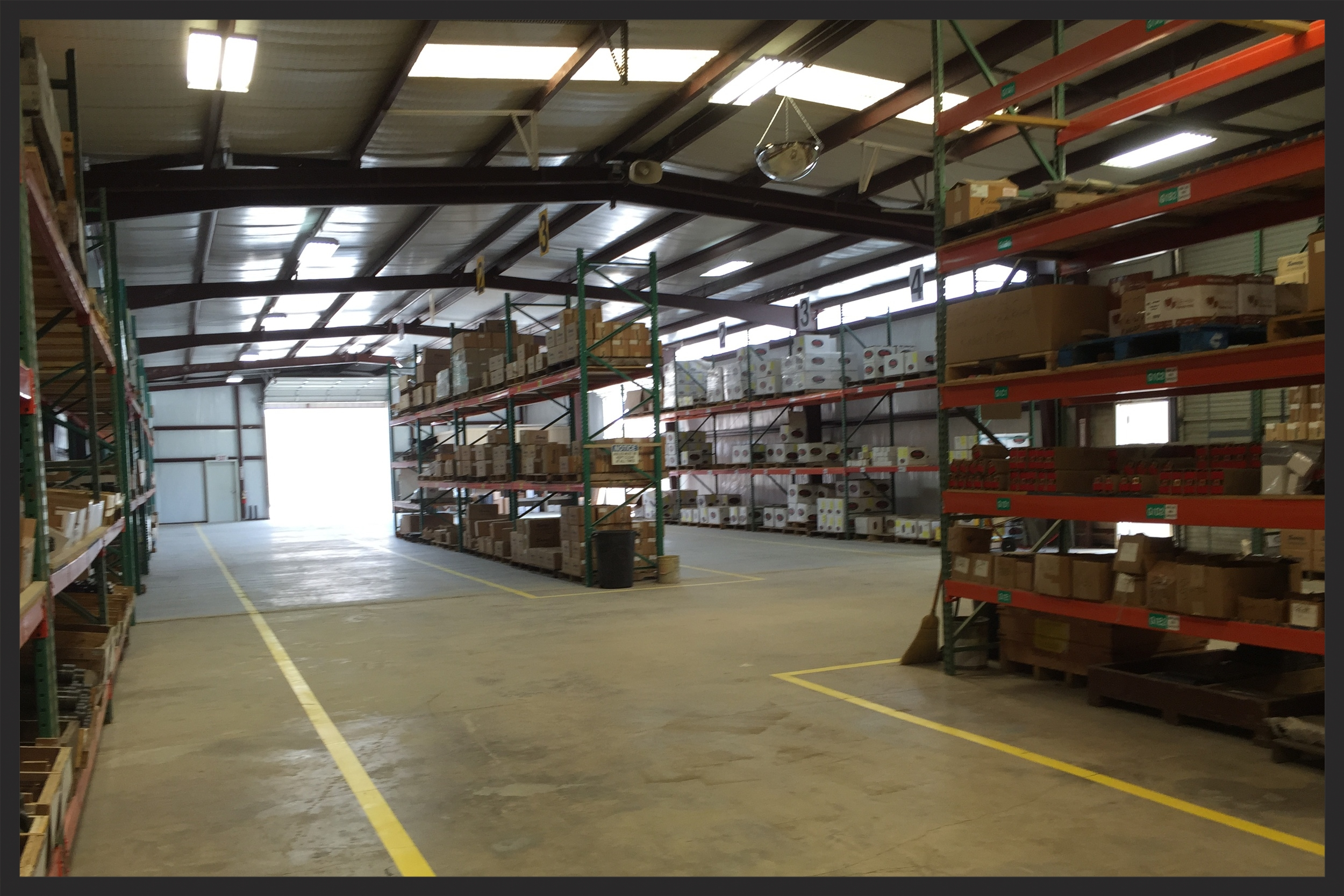 Energy Weldfab warehouse