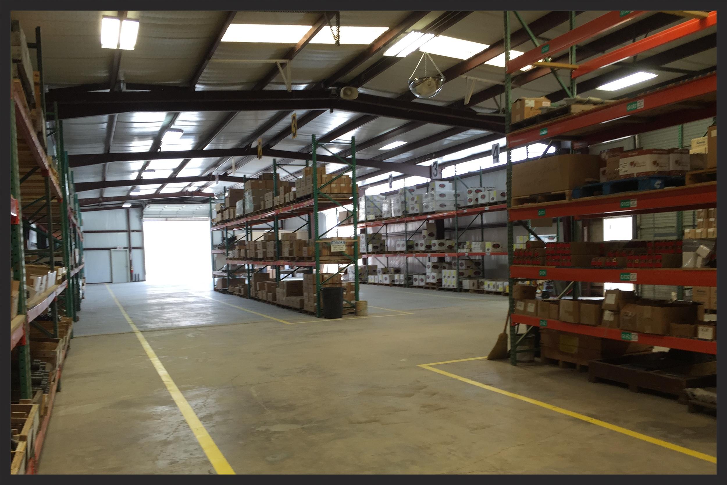 Energy Weldfab warehouse