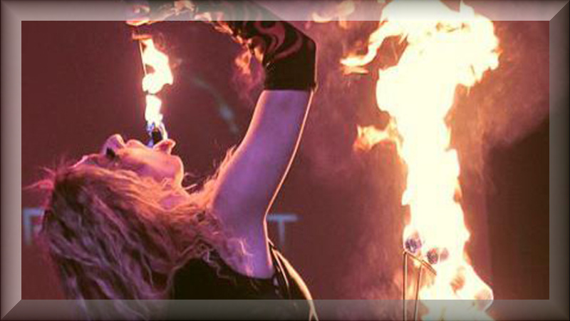 fire eating