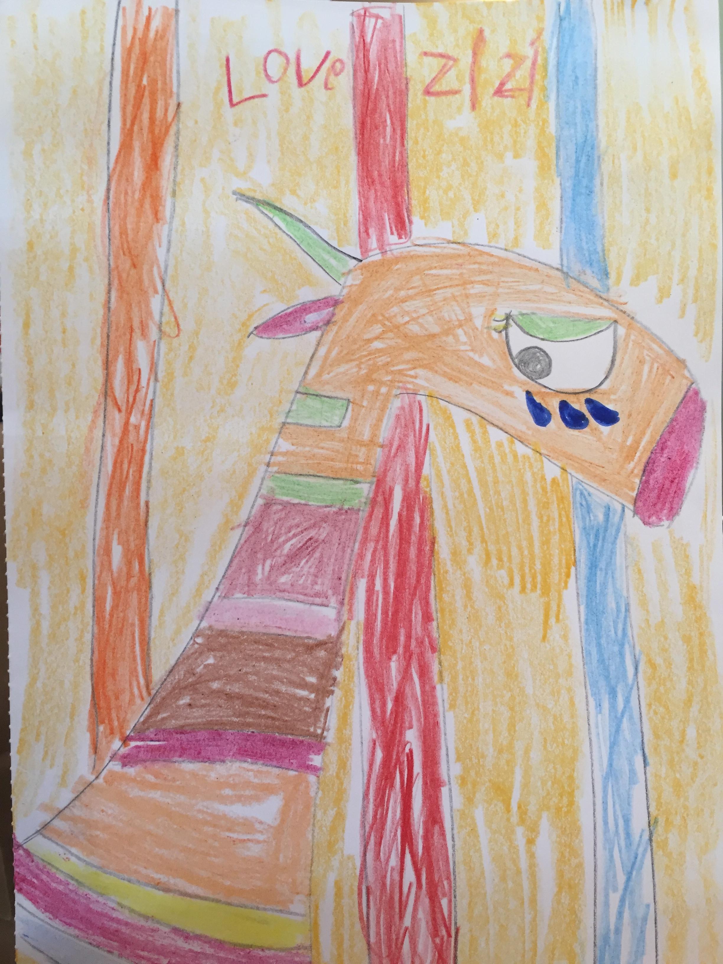 Zizi, age 6