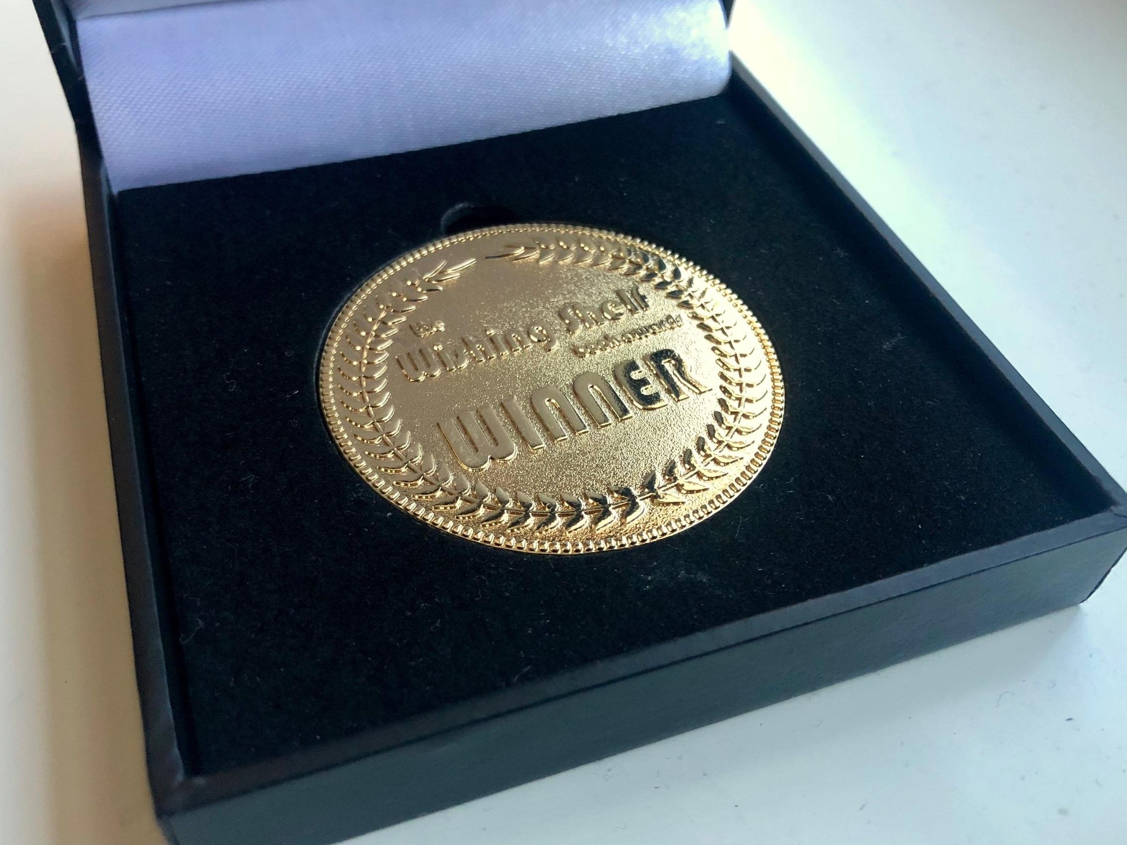 Shiny medal!