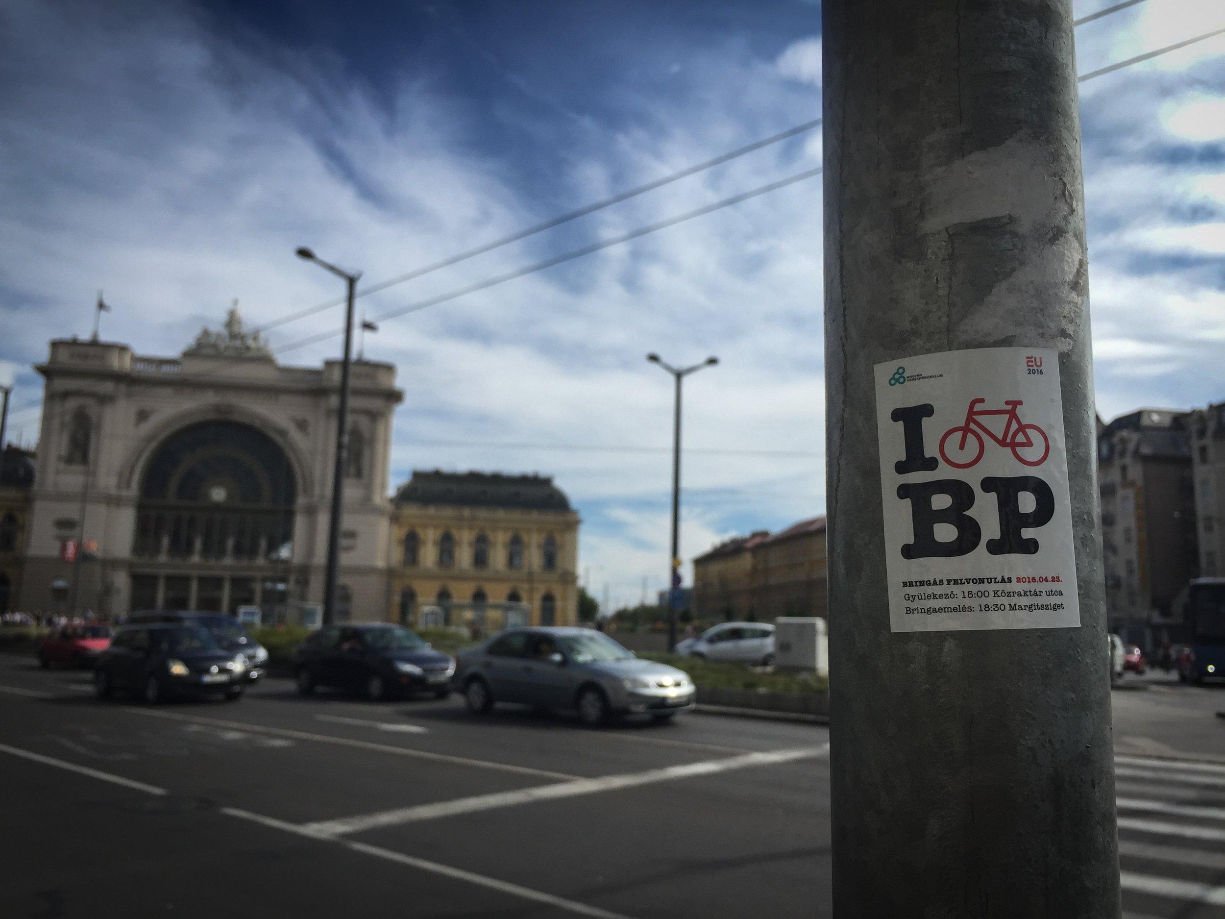 I Bicycle Budapest: A.Kelle