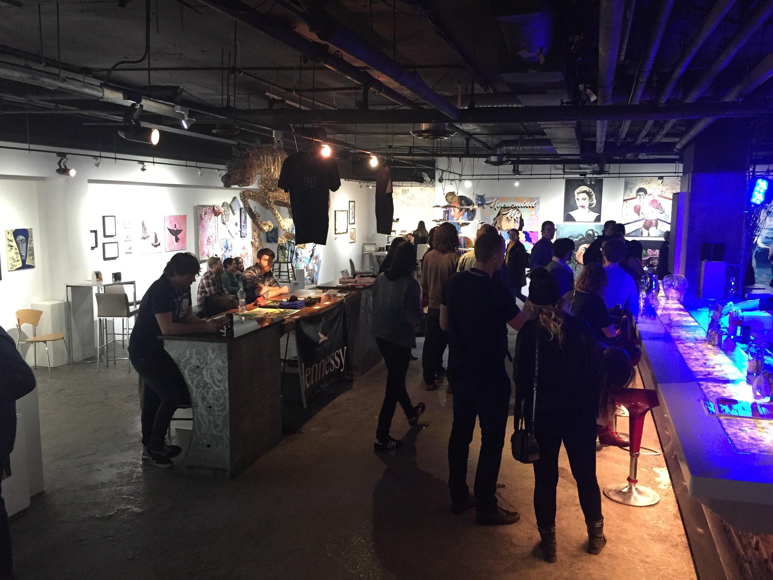 BIG Studio Launch Party | January 11, 2018 | Gerry Thomas Gallery | Calgary AB
