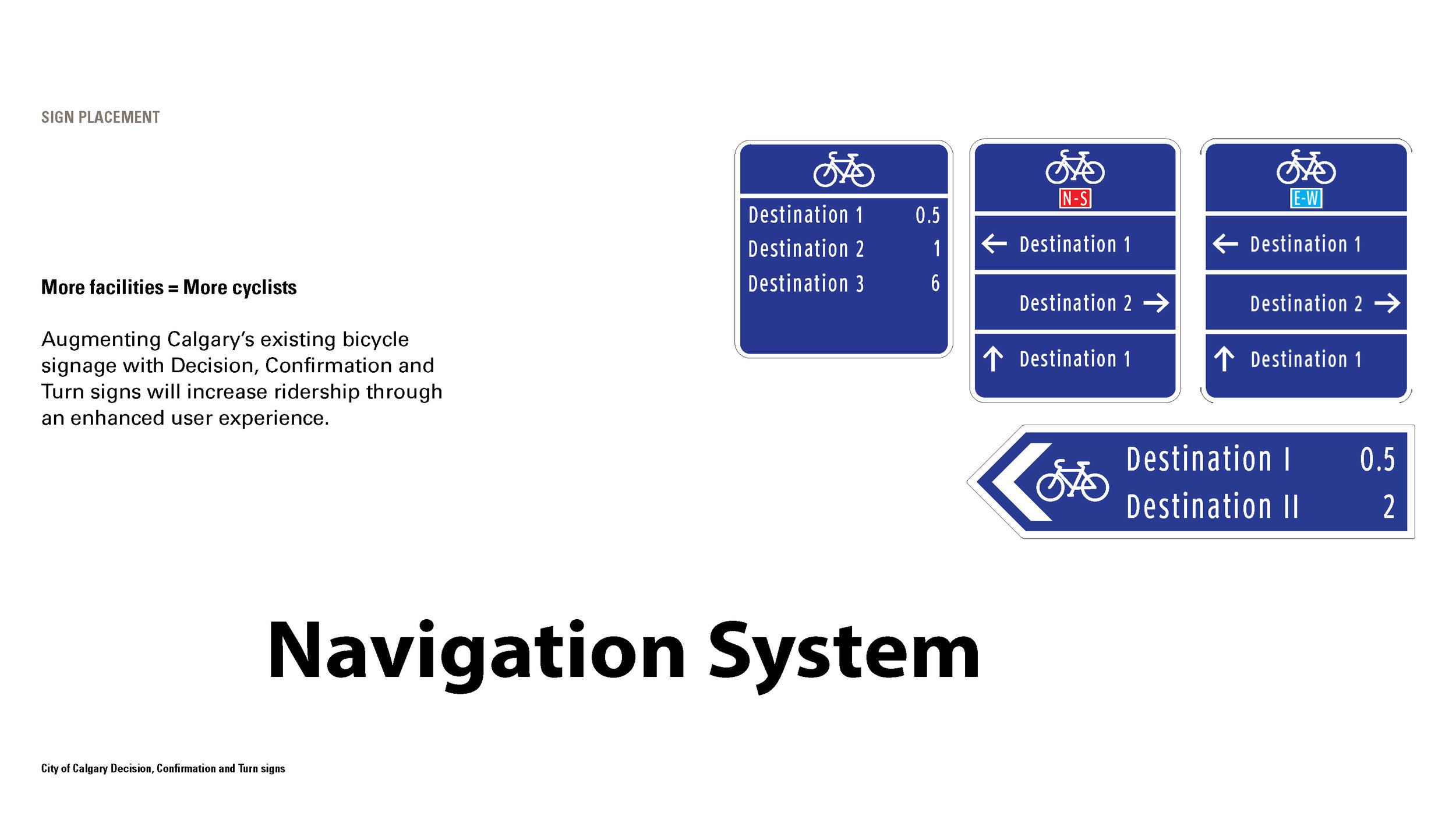 Complete Navigation System designed for Calgary