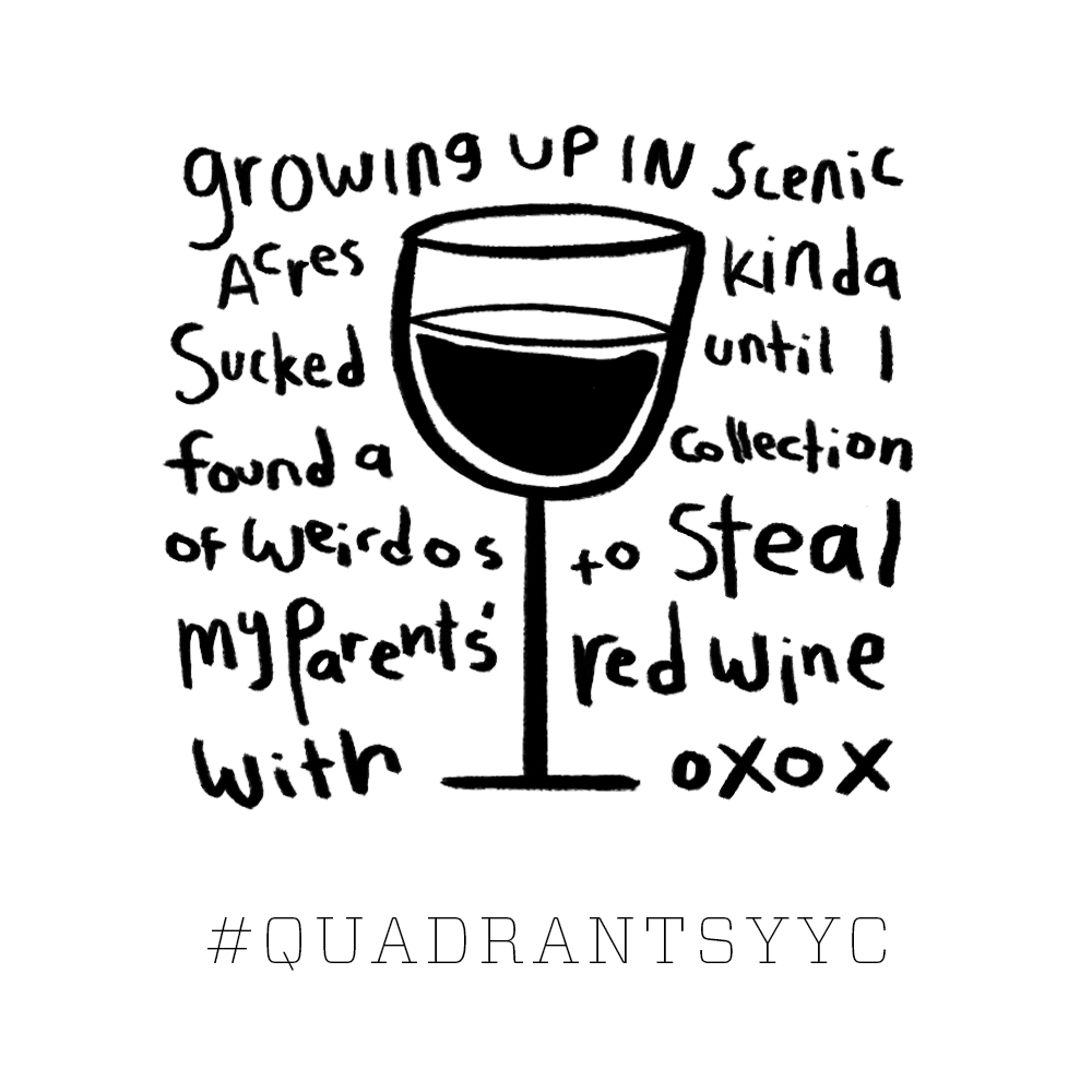 This one hit close to home. Quadrants YYC | HAWK | 2018