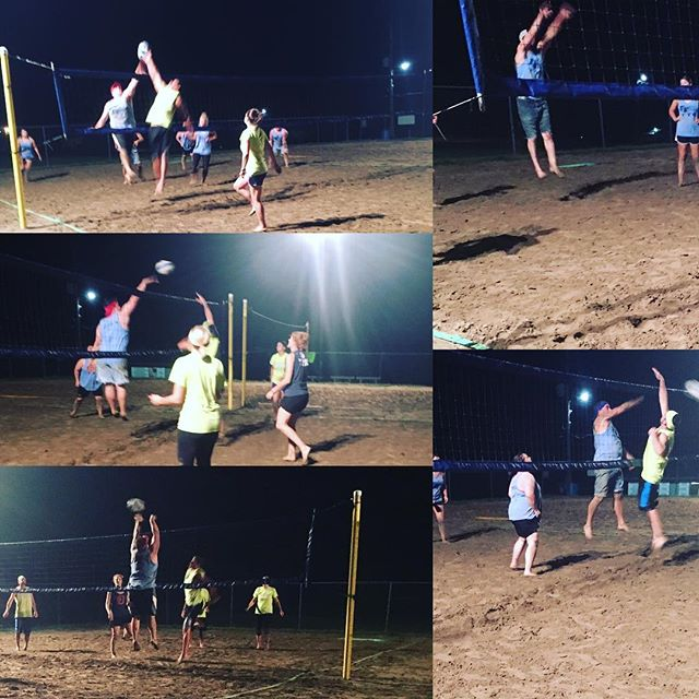 When you've got ups like these, it's easy to see how Team Top Gun clinched the #1 spot for the 2016 Sand Volleyball League. Congrats on a winning season, Team Top Gun (sponsored by Froeschl Floors)!