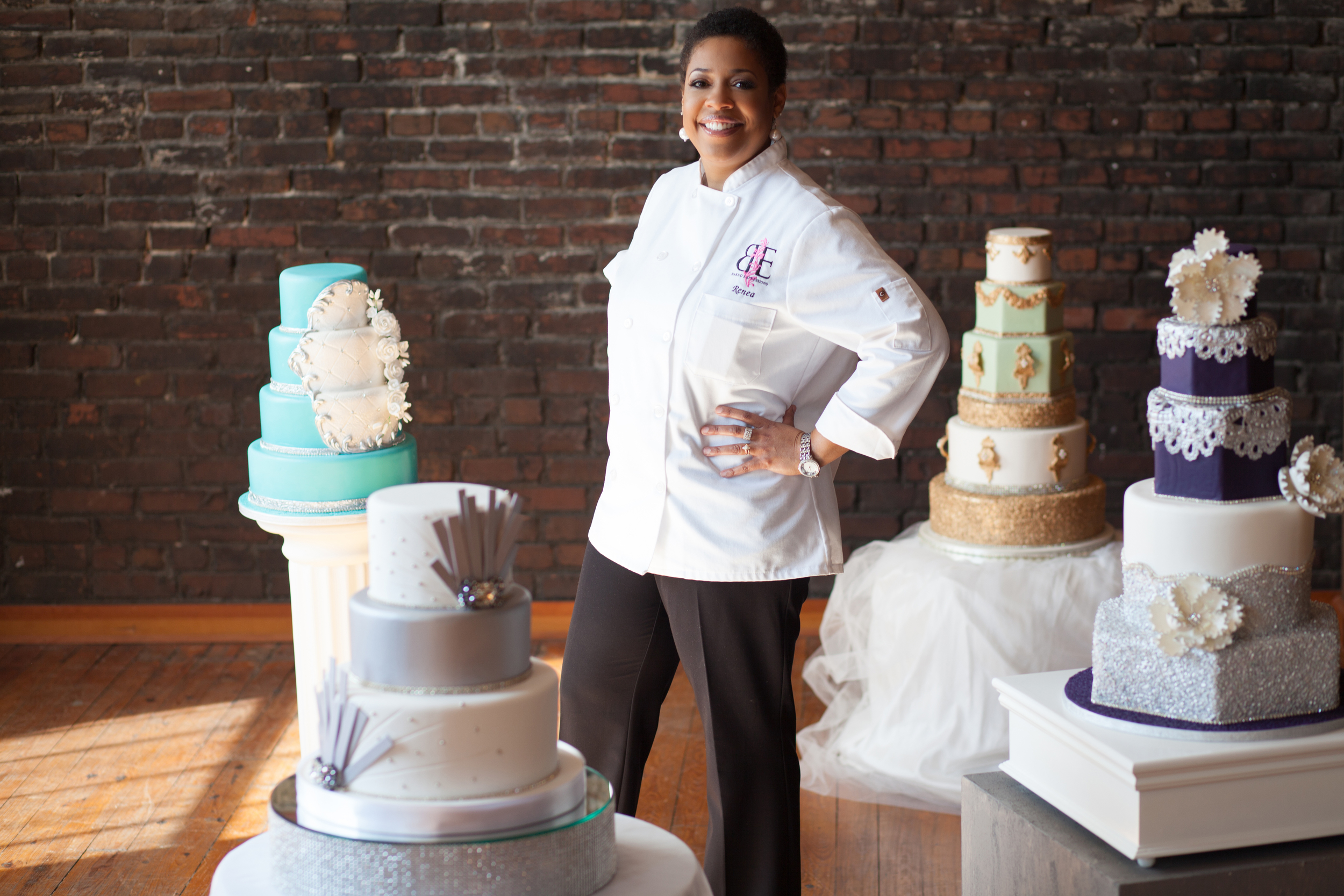Baker: Renea Feagin,  www.bakedexpressions.com   Photo Credit: Smash Glam