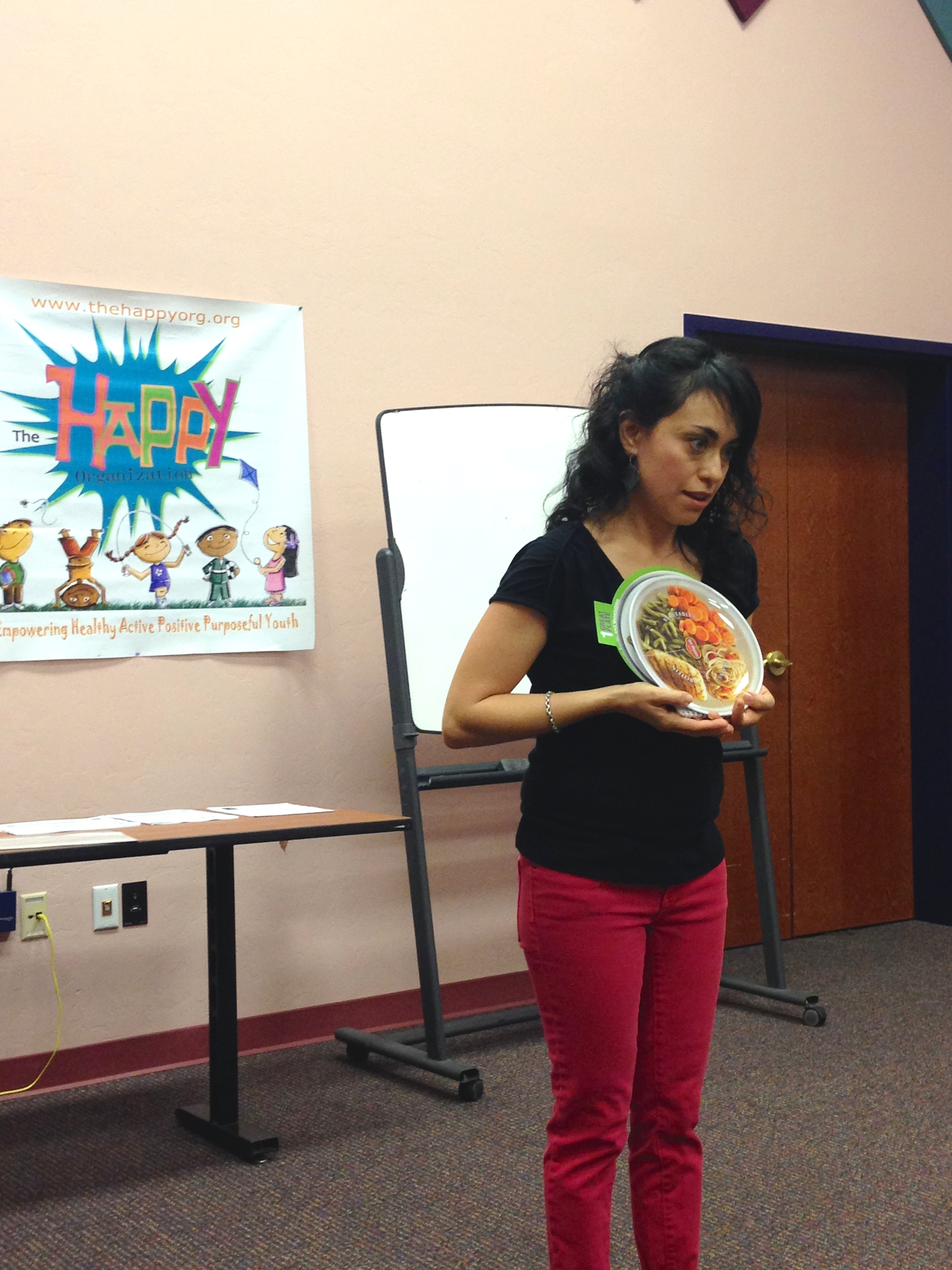 Nutrition talk with The HAPPY Org