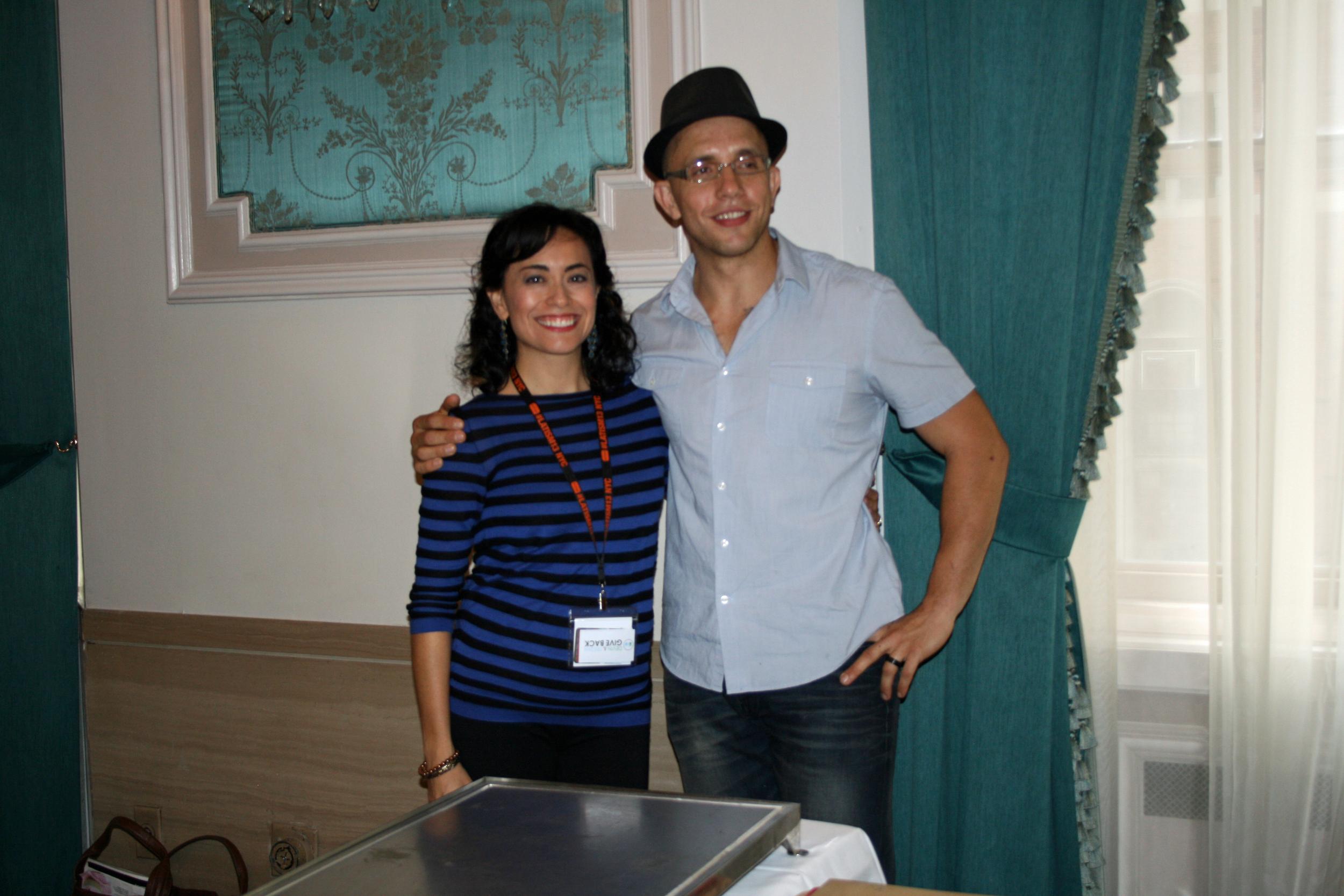 Christy and Chef Ronaldo Linares