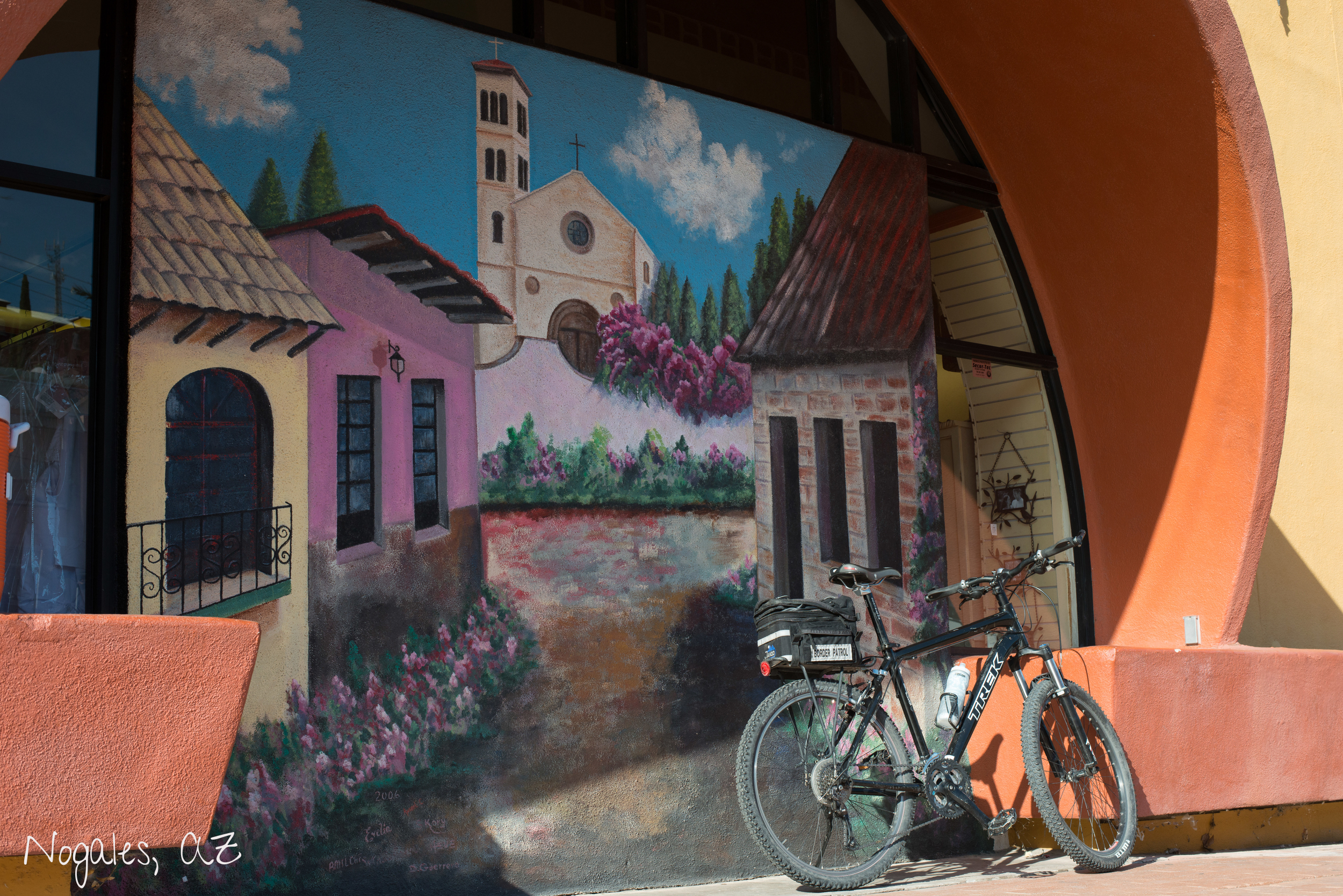 Border mural