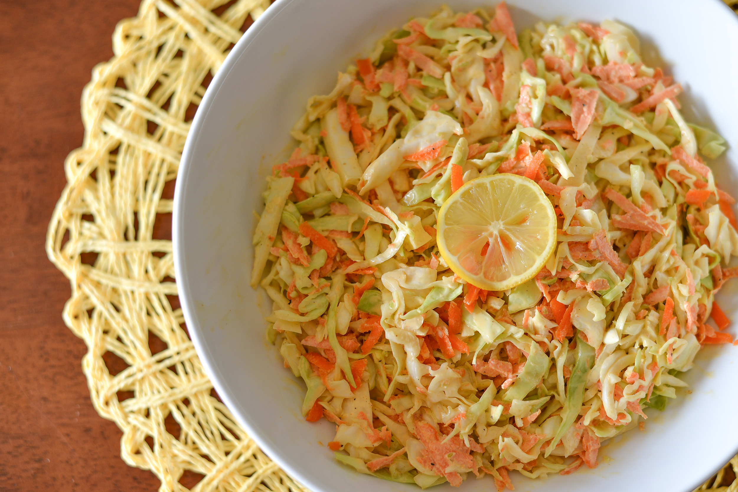 Tangy Coleslaw with May-Yo Dressing