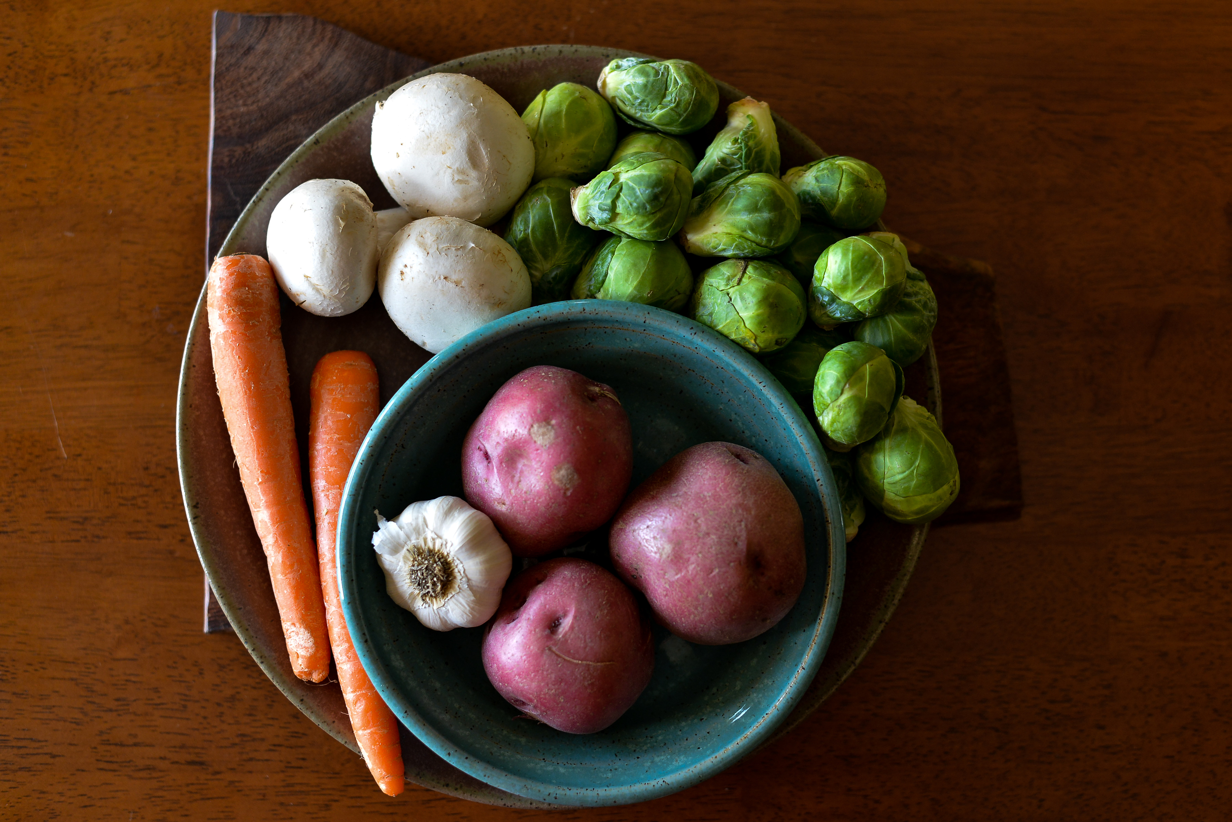 A plethora of amazingly beautiful, healthy vegetables