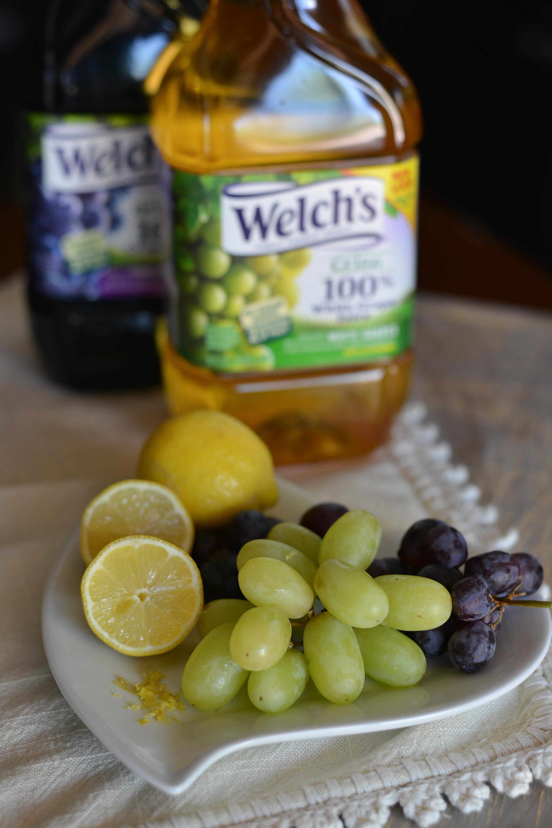 Lemony Grape Juicy Pops Ingred