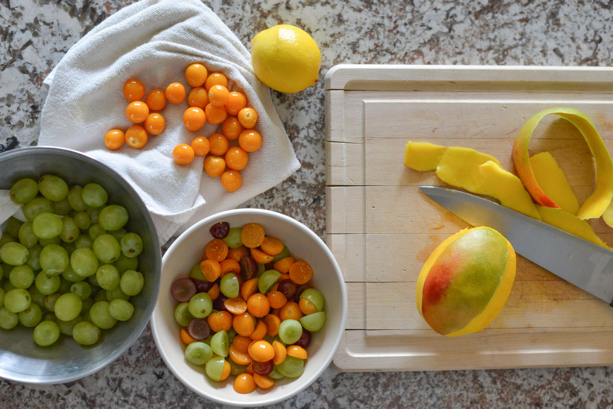 Pichu salad ingredients