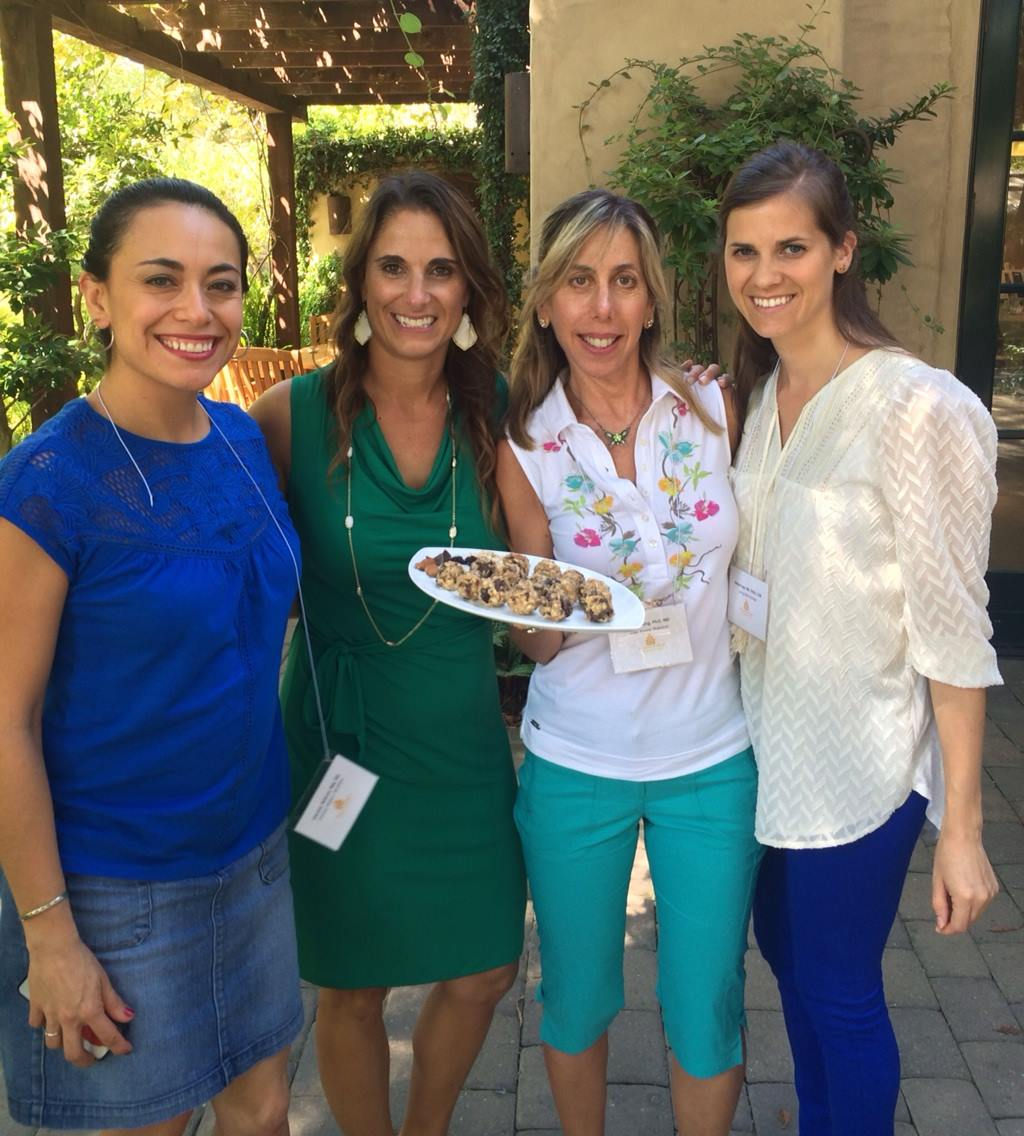 Here with my amazing RD colleagues  Mitzi Dulan,   Lisa Young , and  Meme Inge . We didn't win, but our snack was delicious! Thanks for the photo Lisa!