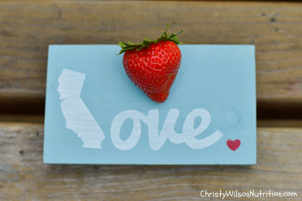 Salinas, California with the California Strawberry Commission