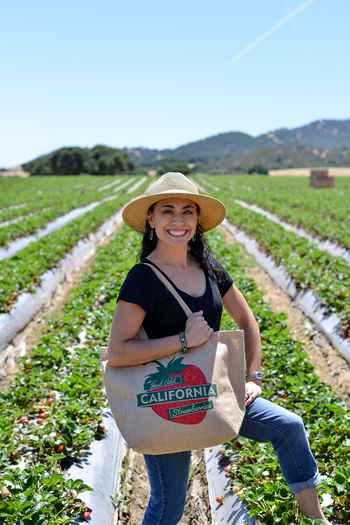 Proud to be a blog ambassador for California Strawberries!