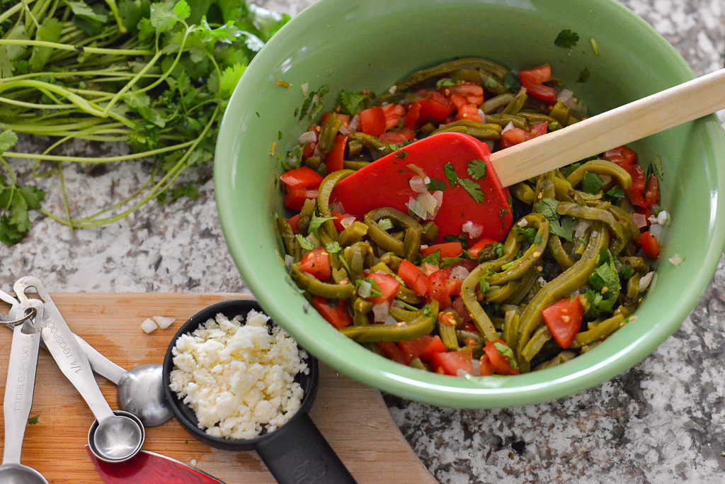 Colorful, beautiful ingredients.